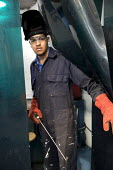 Apprentice welder, Apprentice Academy at Tata Steel Port Talbot, South Wales - Jess Hurd - 2010s,2016,academies,Academy,adult,Adult Education,adults,apprentice,Apprentice Academy,apprentices,apprenticeship,apprenticeships,BAME,BAMEs,BEMM,Black,BME,bmes,diversity,EBF,Economic,Economy,EDU,edu