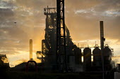 Tata Steel Port Talbot, South Wales. - Jess Hurd - 2010s,2016,Air Quality,blast furnace,chimney,chimneys,dusk,EBF,Economic,Economy,ENI,environment,environmental degradation,Environmental Issues,EVENING,FACTORIES,factory,INDUSTRY,manufacture,manufactur