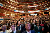 Theresa May, Conservative Party conference Birmingham. - Jess Hurd - 2010s,2016,audience,AUDIENCES,Birmingham,conference,conferences,CONSERVATIVE,Conservative Party,Conservative Party conference,conservatives,female,member,members,Party,people,person,persons,POL,politi