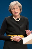 Theresa May, Conservative Party conference Birmingham. - Jess Hurd - 02-10-2016