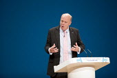 Chris Grayling speaking Conservative Party conference Birmingham. - Jess Hurd - 03-10-2016