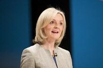 Liz Truss, Conservative Party conference Birmingham. - Jess Hurd - 04-10-2016