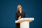 Amber Rudd speaking Conservative Party conference Birmingham. - Jess Hurd - 04-10-2016