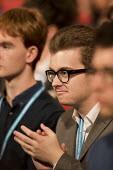 Conservative Party conference Birmingham. - Jess Hurd - 2010s,2016,applauding,applause,audience,AUDIENCES,Birmingham,conference,conferences,CONSERVATIVE,Conservative Party,Conservative Party conference,conservatives,delegate,delegates,male,man,men,Party,pe