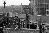 Building workers, construction site Coventry 1980 - John Harris - 10-10-1980