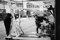 Engineers Fitting WMPTE Harnall lane bus garage Coventry 1980 - John Harris - 16-10-1980