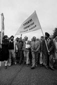 Coventry Committee Against Racism protest after murder of a young Asian Satnam Singh Gill by racists, Foleshill, Coventry 1981 - John Harris - 1980s,1981,activist,activists,Against,Anti Fascist,Anti Racism,anti racist,Asian,ASIANS,attack,attacking,BAME,BAMEs,banner,banners,bigotry,Black,BME,bmes,CAMPAIGN,campaigner,campaigners,CAMPAIGNING,CA