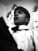 Asian choirboy singing in London church 1965 - Malcolm Aird - 07-02-1965
