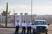 Eloy, Arizona - The Eloy Detention Center, a privately-owned prison that houses immigration detainees. It is operated by the Corrections Corporation of America. From 2003-2016, 14 detainees died in cu... - Jim West - 07-10-2016
