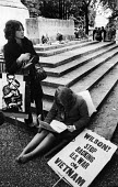 Protest against British involvement in the Vietnam war, Southampton 1967 - Patrick Eagar - 02-07-1967