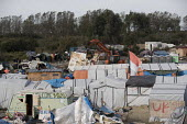 The Jungle camp being destroyed after the eviction. Calais, France. - Jess Hurd - 27-10-2016