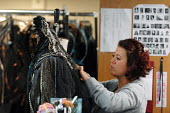Women at work in the Costume department at Covent Garden's Royal Opera House - Stefano Cagnoni - 23-06-2008