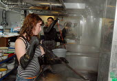Women at work in the Dyeing room at Covent Garden's Royal Opera House - Stefano Cagnoni - 23-06-2008