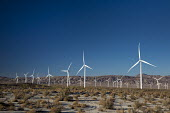 Ocotillo, California - The Ocotillo Wind Project uses 112 wind turbines to generate 265MW of electricity. The wind farm is operated by Pattern Energy. - Jim West - 15-10-2016