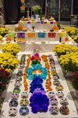 Detroit, Michigan - An ofrenda (altar) at the Day of the Dead observation in Detroit's Mexican-American neighborhood. - Jim West - 2010s,2016,ACE,altar,alter,alters,America,Belief,Catholic,Catholics,conviction,Culture,Day of the Dead,de,Dead,Detroit,Dia,Dia de Muertos,Diaspora,faith,foreign,GOD,Hispanic,Hispanics,hispano,hispanos