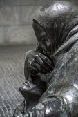 Berlin, Germany, sculpture by Kathe Kollwitz, Mother with her Dead Son, placed Neue Wache in 1993. Kollwitz was a socialist, pacifist and friend of German revolutionary Communist Karl Liebknecht. Her... - David Bacon - 03-10-2016