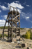 Leadville, Colorado, USA The Leadville Mining District. Mining for gold, silver, lead, zinc, and copper began here in 1860. The Robert Emmet Mine was the site of a major battle between striking member... - Jim West - 19-09-2016