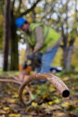 Flint, Michigan USA Replacing lead and galvanized steel water pipes to 800 homes. The water supply became contaminated with lead after state officials decided in 2014 to take drinking water from the F... - Jim West - 03-11-2016