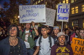 Oakland, California, USA Protest against the election of Republican Donald Trump as President - David Bacon - 09-11-2016