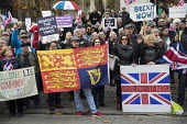 Brexit Feet in London, UKIP and far right supporters calling for Article 50. Westminster, London. - Jess Hurd - 23-11-2016