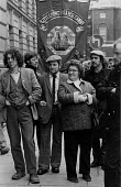 Trades union lobby of the Agricultural Wages Board, London 1985 - Denis Doran - 04-03-1985