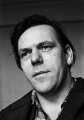 Jim Allen, socialist playwright, 1969, best known for his TV serial Days of Hope and for his collaboration with film director Ken Loach - NLA - 1960s,1969,ACE,adult,adults,Arts,author,authors,Culture,Days of Hope,director,DIRECTORS,Jim Allen,Ken Loach,Left,left wing,Leftwing,male,man,marxist,Marxists,men,modern,modernism,modernist,modernists,