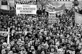 1972 Majority Rule for Zimbabwe Now protest, Trafalgar Square, London - MIke Tull - 13-02-1972