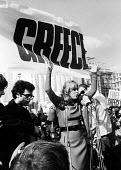Melina Mercouri Save Greece from Military Junta protest London 1968