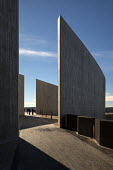 Shanksville, Pennsylvania: Visitor center complex, Flight 93 National Memorial. The memorial remembers those killed on United Airlines Flight 93 which crashed on September 11, 2001 after being taken o... - Jim West - 23-11-2016
