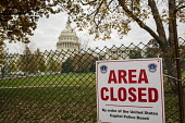 Washington, DC - The west lawn and grounds of the U.S. Capitol building are closed during preperations for the inauguration of US President-elect Donald Trump - Jim West - 2010s,2016,America,architecture,barrier,building,buildings,capital,capitol,capitol dome,Capitol Hill,cities,City,clj,closed,closing,closure,closures,communicating,communication,DC,Donald Trump,fence,g