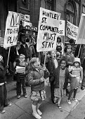 Huntley Street squatters protest lobby, London 1977 - NLA - 1970s,1977,activist,activists,BAME,BAMEs,black,BME,bmes,boy,boys,campaign,campaigning,CAMPAIGNS,child,CHILDHOOD,children,cities,City,Council Housing,Council Housing,court,courts,DEMONSTRATING,Demonstr