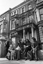 Squatters at Elgin Avenue, West London, 1975 - NLA - 23-04-1975