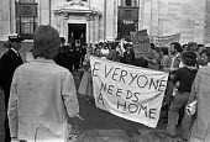 Squatters lobby London 1975 - NLA - 29-07-1975