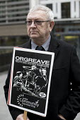 The Orgreave Truth and Justice Campaign hold a protest at the Home Office which has refused an inquiry into the violent policing at the Orgreave coking plant during the miners strike in 1984 - Jess Hurd - 15-12-2016