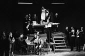 UK Premiere of The Rise And Fall of The City of Mahagonny by Bertolt Brecht Sadlers Wells Theatre London 1963 - Alex Low - 1960s,1963,ACE,act,acting,actor,actor actors,actors,alienation,arts,Bertolt Brecht,Brecht,Brechtian,cast,cities,city,culture,design,Dialectical theatre,drama,DRAMATIC,epic theatre,London,male,man,men,