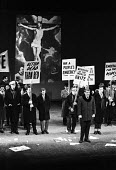UK Premiere of The Rise And Fall of The City of Mahagonny by Bertolt Brecht Sadlers Wells Theatre London 1963 with set design by Ralph Koltai - Alex Low - 16-01-1963