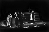 UK Premiere of The Rise And Fall of The City of Mahagonny by Bertolt Brecht Sadlers Wells Theatre London 1963 - Alex Low - 1960s,1963,ACE,act,acting,actor,actor actors,actors,actress,actresses,alienation,arts,Bertolt Brecht,Brecht,Brechtian,cast,cities,city,culture,design,Dialectical theatre,drama,DRAMATIC,epic theatre,FE
