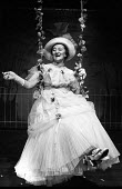 Actress Liz Smith in The Swing by Edward Bond 1976, The Almost Free Theatre, London - Chris Davies - 21-11-1976