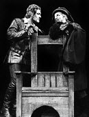 RSC production of When Thou Art King, Aldwych Theatre, London, 1970. Michael Gambon, on the left - Chris Davies - 25-08-1970