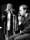 Alison Steadman and Geoffrey Hutchings Wholesome Glory a Mike Leigh play, Royal Court Theatre Upstairs, London, 1973 Later becoming the BBC TV Play for Today Nuts in May - Chris Davies - 20-02-1973