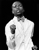 John Kani as Styles Buntu in Sizwe Banzi Is Dead by Athol Fugard The Royal Court Theatre, London, 1973 - Chris Davies - 18-09-1973