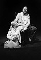 Marianne Faithfull and Denholm Elliott in Mad Dog, Hampstead Theatre Club, London 1973 - Chris Davies - 09-08-1973
