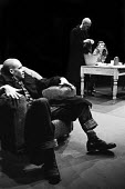 Stephen Rea and Stephen Moore in Action by Sam Shepard, Apollo Theatre, London, 1974 - Chris Davies - 16-09-1974