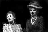 Glenda Jackson and Jennie Linden in RSC production of Hedda Gabler directed by Trevor Nunn, Aldwych Theatre, London, 1975 - Chris Davies - 14-07-1975