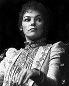 Glenda Jackson in an RSC production of Hedda Gabler directed by Trevor Nunn, Aldwych Theatre, London, 1975 - Chris Davies - 1970s,1975,ACE,act,acting,actor,actor actors,actors,actress,actresses,Arts,cities,city,Culture,drama,DRAMATIC,FEMALE,Glenda Jackson,London,maker,makers,making,people,person,persons,play,PLAYING,plays,
