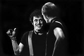 East, written by and starring Steven Berkoff (R) King's Head Theatre, London, 1975 - Chris Davies - 1970s,1975,ACE,act,acting,actor,actors,Arts,cities,city,Culture,drama,DRAMATIC,London,male,man,men,people,person,persons,play,PLAYING,plays,stage,Steven Berkoff,Theatre,THEATRES,urban