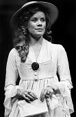 Estelle Kohler as Sarah Cottesham in RSC production of The Marrying Of Ann Leete, Aldwych Theatre, London, 1975 - Chris Davies - 1970s,1975,ACE,act,acting,actor,actors,actress,actresses,Arts,cities,city,Culture,drama,DRAMATIC,Estelle Kohler,FEMALE,London,maker,makers,making,people,person,persons,play,PLAYING,plays,production,RS