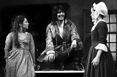 Zoe Wanamaker (L) and Tom Conti in The Devil's Disciple by George Bernard Shaw, Aldwych Theatre, London, 1976 - Chris Davies - 07-07-1976