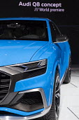 Detroit, Michigan, Audi Q8 concept vehicle, North American International Auto Show - Jim West - 2010s,2017,America,American,americans,Audi,Audi Q8,AUTO,auto industry,auto show,AUTOMOBILE,AUTOMOBILES,automotive,Automotive Industry,car,Car Industry,car show,carindustry,cars,concept,Detroit,display