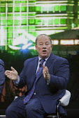 Detroit, Michigan, Detroit Mayor Mike Duggan speaking during a big city mayors forum, North American International Auto Show - Jim West - 2010s,2017,America,American,americans,automotive,Automotive Industry,Car Industry,Car Show,carindustry,communicating,communication,conversation,conversations,Detroit,Detroit mayor,dialogue,discourse,d